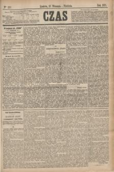 Czas. [R.28], Ner 220 (26 września 1875)