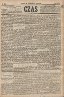 Czas. [R.28], Ner 238 (17 października 1875)
