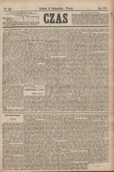 Czas. [R.28], Ner 239 (19 października 1875)