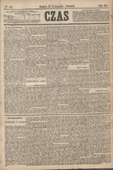 Czas. [R.28], Ner 241 (21 października 1875)
