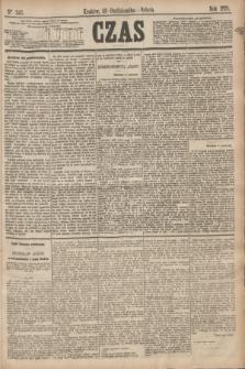Czas. [R.28], Ner 243 (23 października 1875)
