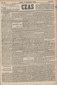 Czas. [R.28], Ner 249 (30 października 1875)