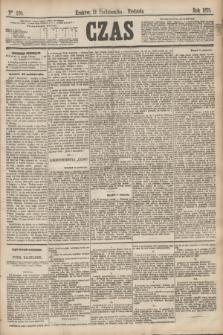 Czas. [R.28], Ner 250 (31 października 1875)