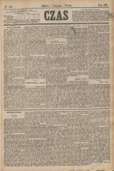 Czas. [R.28], Ner 256 (9 listopada 1875)