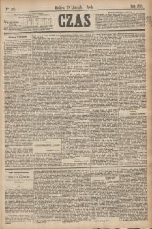 Czas. [R.28], Ner 257 (10 listopada 1875)