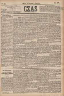 Czas. [R.28], Ner 258 (11 listopada 1875)
