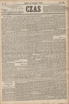 Czas. [R.28], Ner 259 (12 listopada 1875)