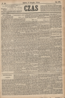 Czas. [R.28], Ner 260 (13 listopada 1875)