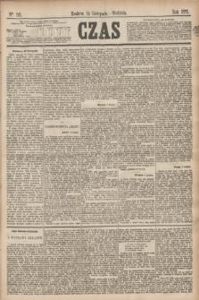 Czas. [R.28], Ner 261 (14 listopada 1875)
