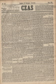 Czas. [R.28], Ner 264 (18 listopada 1875)