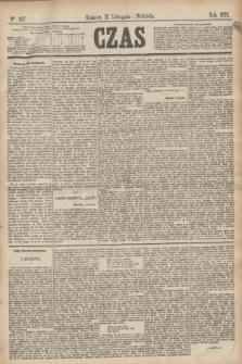 Czas. [R.28], Ner 267 (21 listopada 1875)