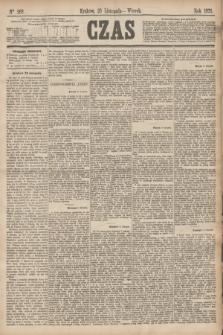 Czas. [R.28], Ner 268 (23 listopada 1875)