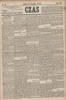 Czas. [R.28], Ner 274 (30 listopada 1875)