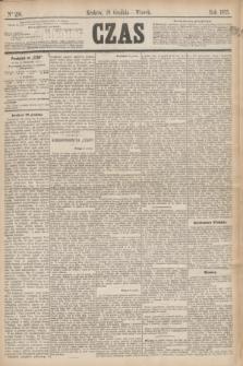 Czas. [R.28], Ner 296 (28 grudnia 1875)