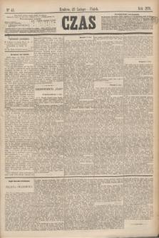 Czas. [R.29], Ner 45 (25 lutego 1876)