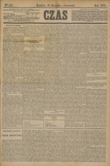 Czas. [R.32], Ner 191 (21 sierpnia 1879)