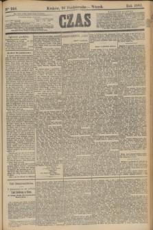 Czas. [R.33], Ner 246 (26 października 1880)