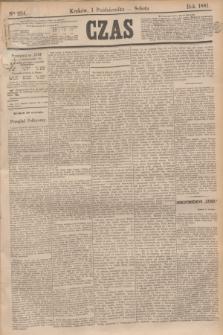Czas. [R.34], Ner 224 (1 października 1881)