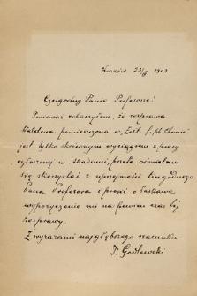 Korespondencja Władysława Natansona z lat 1884-1937. T. 6, Godlewski Tadeusz – Hyde