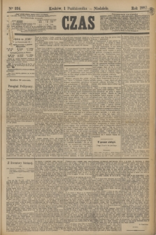 Czas. [R.35], Ner 224 (1 października 1882)