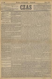 Czas. [R.36], Ner 22 (28 stycznia 1883)