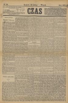 Czas. [R.36], Ner 34 (13 listopada 1883)
