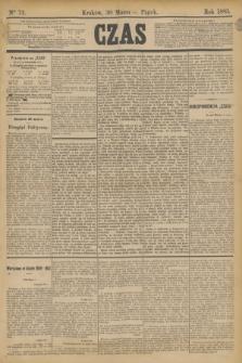 Czas. [R.36], Ner 72 (30 marca 1883)