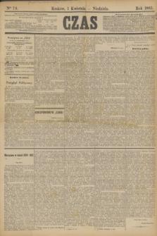 Czas. [R.36], Ner 74 (1 kwietnia 1883)