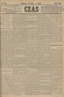 Czas. [R.36], Ner 168 (27 lipca 1883)