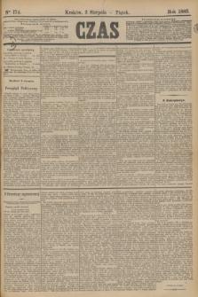 Czas. [R.36], Ner 174 (3 sierpnia 1883)