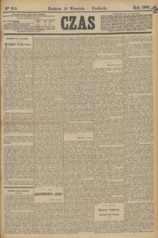 Czas. [R.36], Ner 210 (16 września 1883)