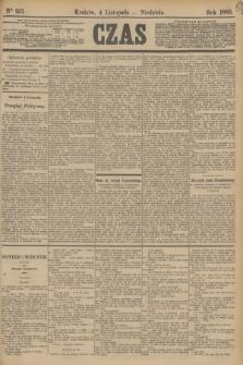 Czas. [R.36], Ner 251 (4 listopada 1883)