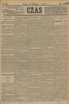 Czas. [R.36], Ner 262 (17 listopada 1883)