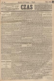 Czas. [R.37], Ner 38 (15 lutego 1884)