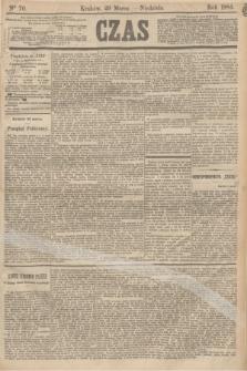 Czas. [R.37], Ner 70 (23 marca 1884)