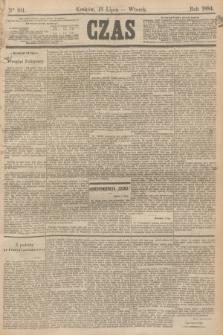 Czas. [R.37], Ner 161 (15 lipca 1884)