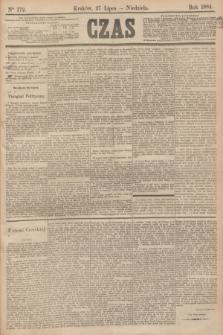 Czas. [R.37], Ner 172 (27 lipca 1884)