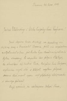 """Korespondencja Władysława Natansona z lat 1884-1937. T. 7, """"Ilustrowany Kurier…"""" – King"""