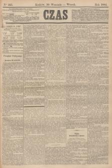 Czas. [R.37], Ner 225 (30 września 1884)