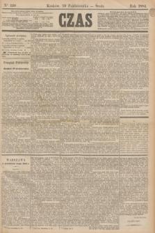 Czas. [R.37], Ner 250 (29 października 1884)