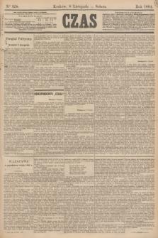 Czas. [R.37], Ner 258 (8 listopada 1884)