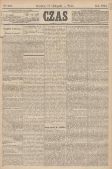 Czas. [R.37], Ner 267 (19 listopada 1884)