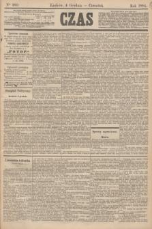 Czas. [R.37], Ner 280 (4 grudnia 1884)