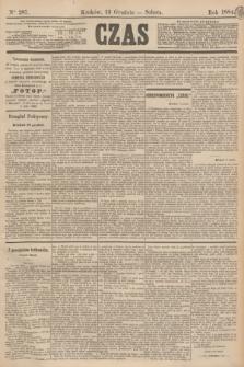 Czas. [R.37], Ner 287 (13 grudnia 1884)