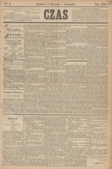 Czas. [R.38], Ner 5 (8 stycznia 1885)