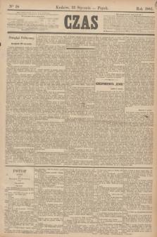 Czas. [R.38], Ner 18 (23 stycznia 1885)
