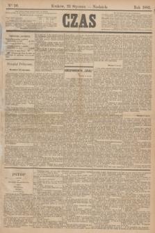 Czas. [R.38], Ner 20 (25 stycznia 1885)