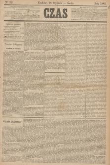 Czas. [R.38], Ner 22 (28 stycznia 1885)