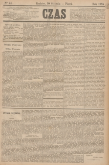 Czas. [R.38], Ner 24 (30 stycznia 1885)