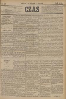 Czas. [R.38], Ner 25 (31 stycznia 1885)